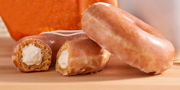 Krispy Kreme S New Pumpkin Spice Doughnut And 7 Other Must