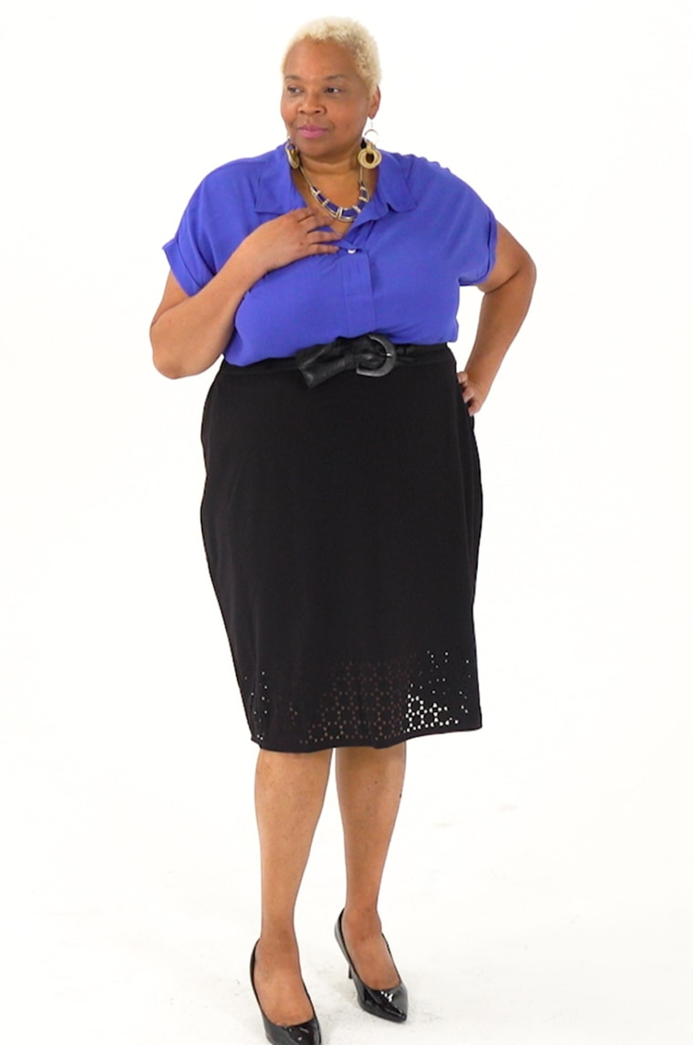 Here\'s how 5 women style a plus-size pencil skirt