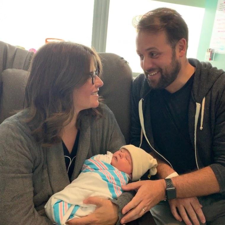 NBC News correspondent Kasie Hunt, husband Matt Rivera