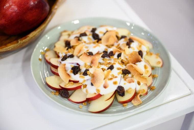 Joy Bauer's Breakfast Nachos + Coconut Cookie Dough Dip + Ramen Zoodles