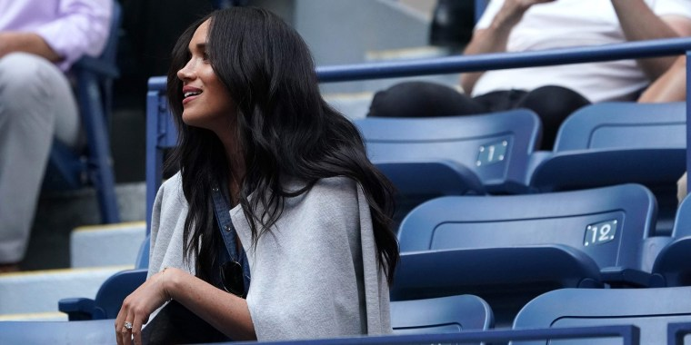 The Duchess of Sussex wore a surprisingly affordable piece to watch Serena Williams at the U.S. Open.
