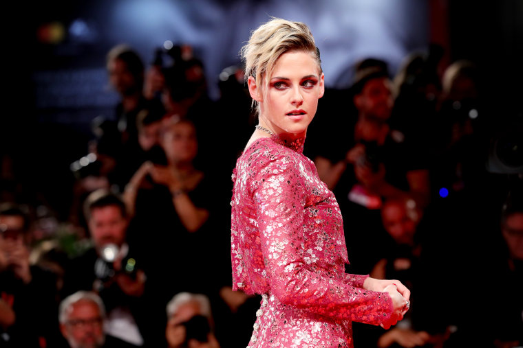 Image: Kristen Stewart at the Venice Film Festival in Italy on Aug. 30, 2019.
