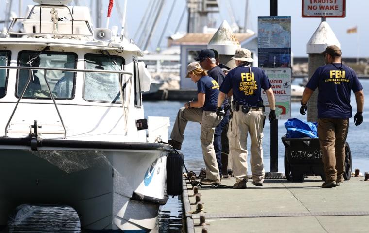 Image: Multiple Fatalities In Boat Fire Near Santa Cruz Island
