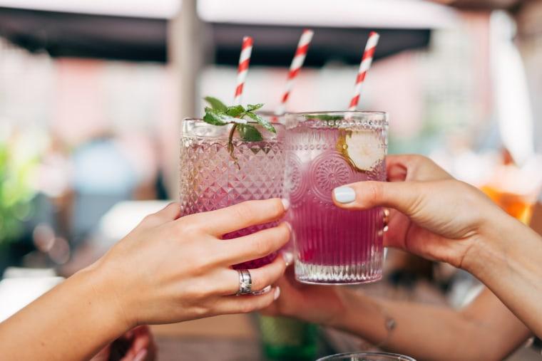 Image: celebratory toast
