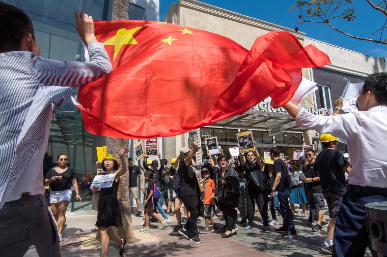 Image: US-HONG KONG-POLITICS-PROTEST