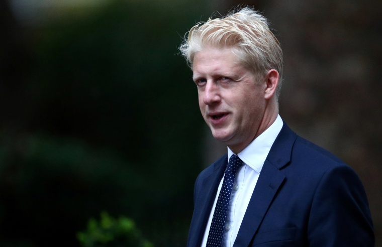 Image: Britain's Minister of State for Business, Energy and Industrial Strategy Department and Education Department Jo Johnson is seen outside Downing Street in London