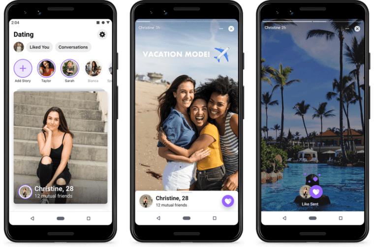 Image: Facebook Dating is launching in the United States.
