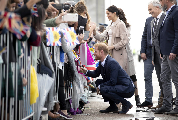 Image: The Duke And Duchess Of Sussex Visit New Zealand - Day 3