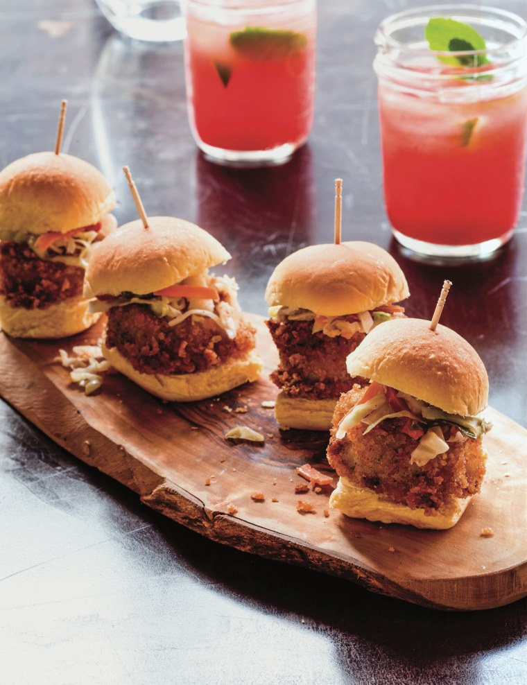 Image: Gullah Shrimp Mini Burgers