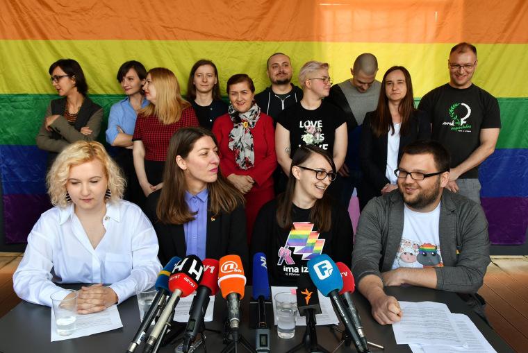 Image: LGBT activists