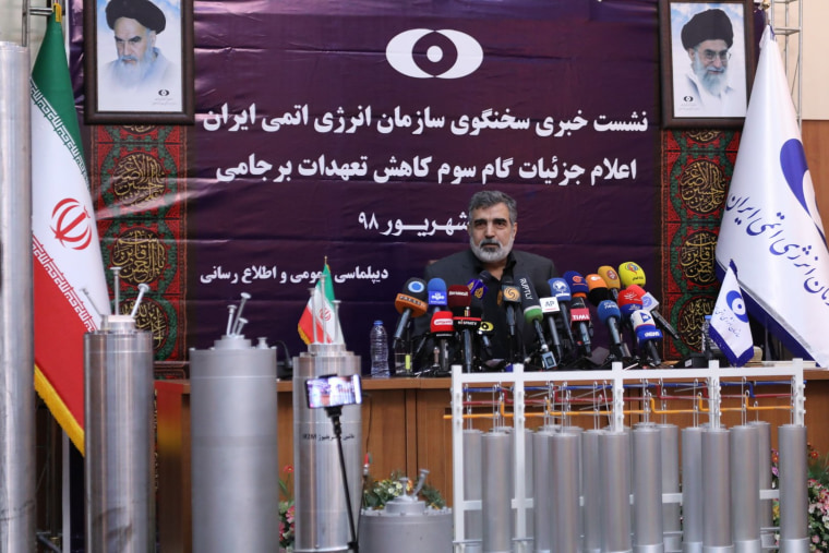 Image: IRAN-NUCLEAR-POLITICS