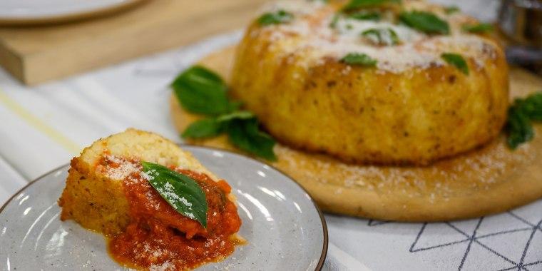 Antoni's Summer Corn with Choiczo and Cilantro + Tomato Basil and Melty Mozzarella Baked Rice