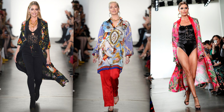 'Real Housewives of Beverly Hills' stars walked the runway at New York Fashion Week