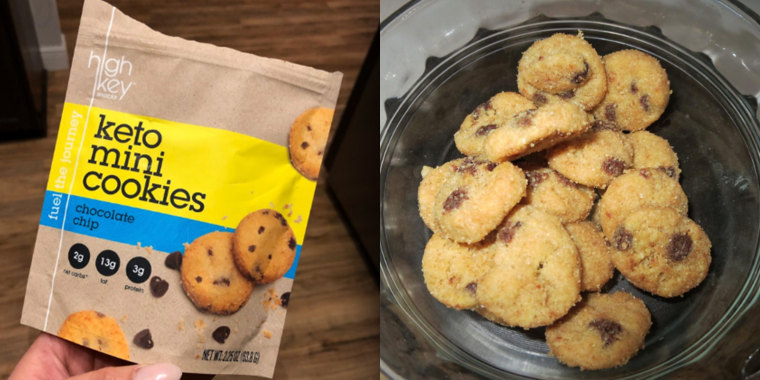 People are loving these low-carb, keto-friendly cookies