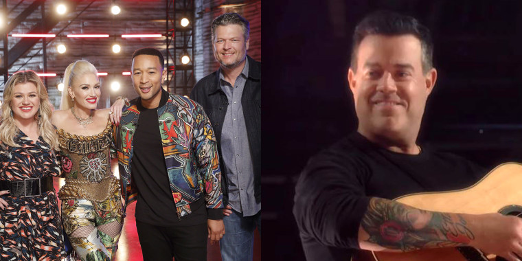 'The Voice' coaches — and Carson Daly! — cover '90s hit 'More Than Words'