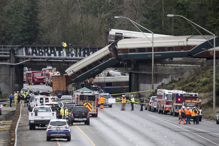 Image: Amtrak Train Derailment