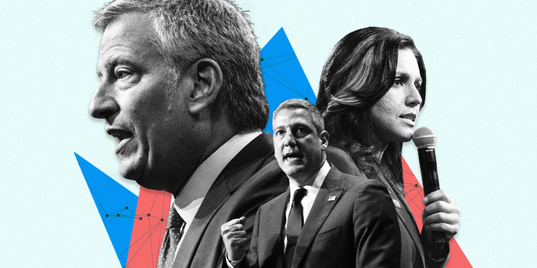 Bill de Blasio, Tim Ryan and Tulsi Gabbard won't be on the debate stage. They aren't making much of a splash in the polls. But that's no reason to stop running just yet, they say.
