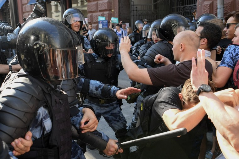 Image: FILES-RUSSIA-OPPOSITION-ARREST-DEMO