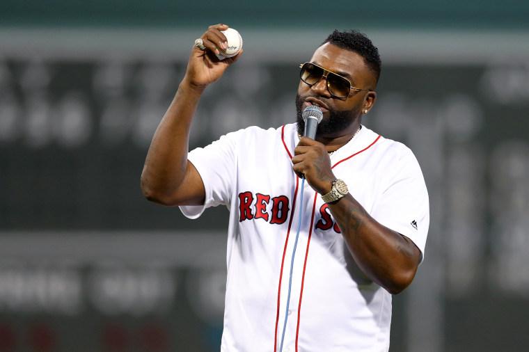 Image: David Ortiz, New York Yankees v Boston Red Sox