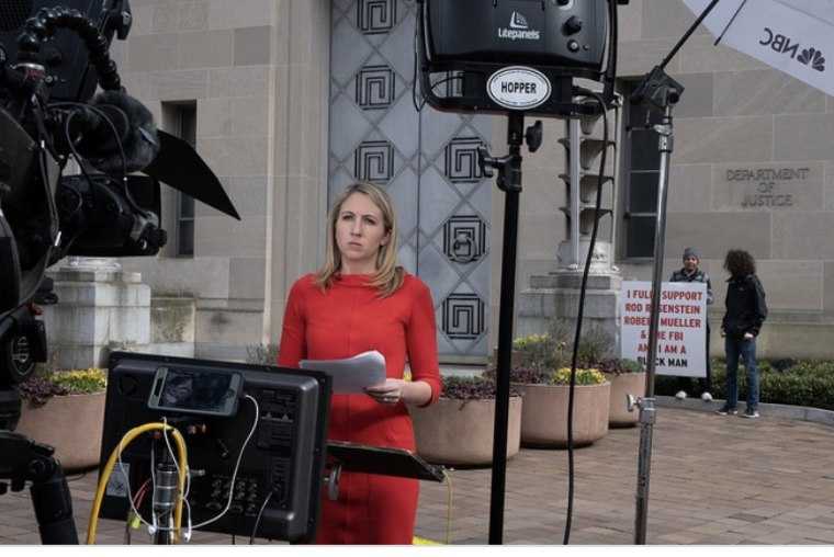 Julia E. Ainsley is an NBC News correspondent who covers national security and justice.