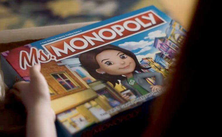 Image: Hasbro has released Ms. Monopoly, a version of the classic board game that celebrates female trailblazers.