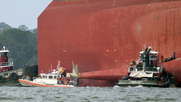 Image: Golden Ray Capsize
