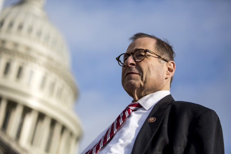 Image: House Judiciary Committee Chairman Jerry Nadler outside of the Capitol on Sept. 11, 2019.