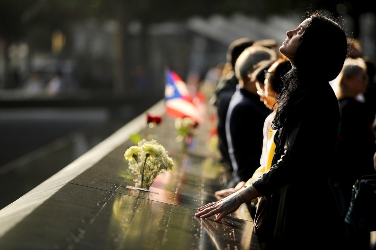 Image: New York City Commemorates 18th Anniversary Of The 9/11 Terror Attacks