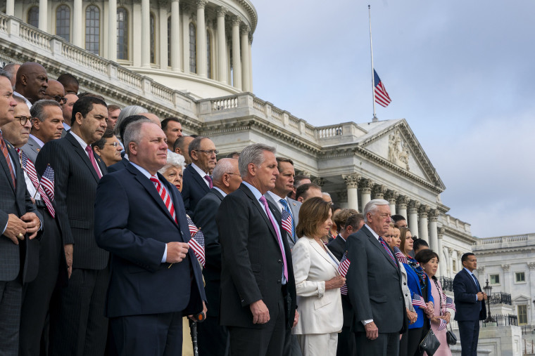 Image: Steve Scalise, Kevin McCarthy, Nancy Pelosi, Steny Hoyer