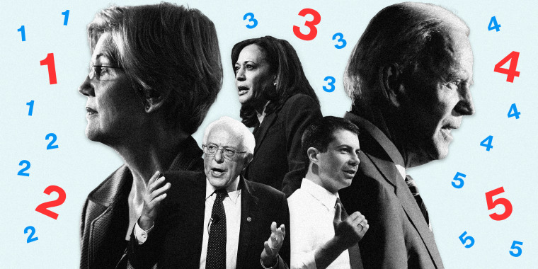 Image: Five things to watch for in tonight's Democratic debate.