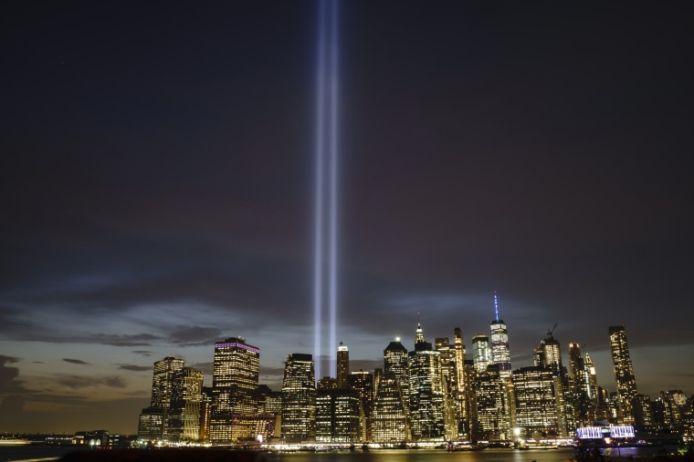 Image: New York City Commemorates 18th Anniversary Of The 9/11 Terror Attacks