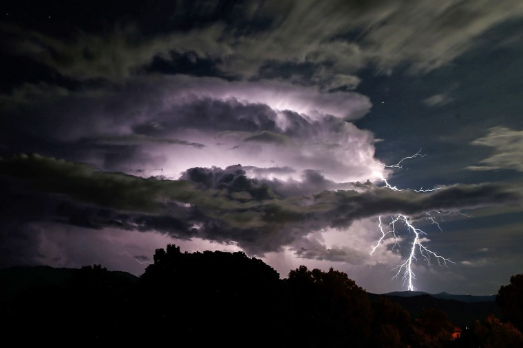 Image: TOPSHOT-FRANCE-CORSICA-WEATHER-STORM