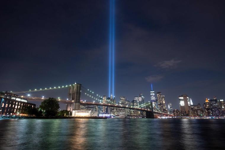 Image: TOPSHOT-US-ATTACKS-9/11-ANNIVERSARY