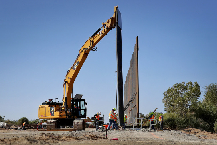 Image: Pentagon-Funded Border Wall Construction