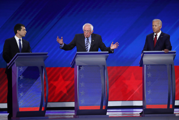 Image: Democratic Presidential Candidates Participate In Third Debate In Houston
