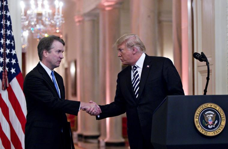 Trump defends Brett Kavanaugh after sexual misconduct allegations resurface