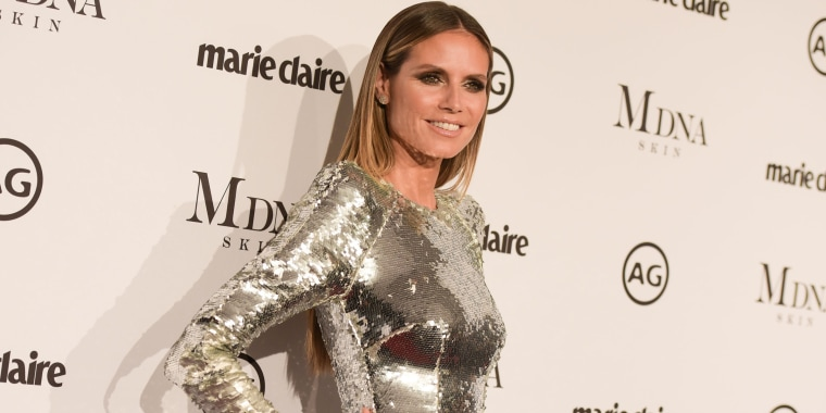 Heidi Klum swears by this moisturizer for clear skin