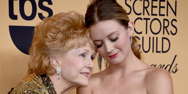 Billie Lourd will honor her grandmother Debbie Reynolds on 'Will & Grace'