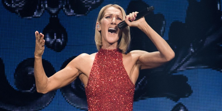 Celine Dion hair, Celine Dion bob haircut, Celine Dion new tour