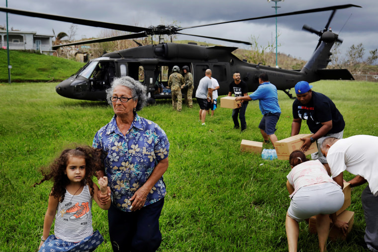 Amid government mess, Hurricane Maria survivors lack access to philanthropic aid