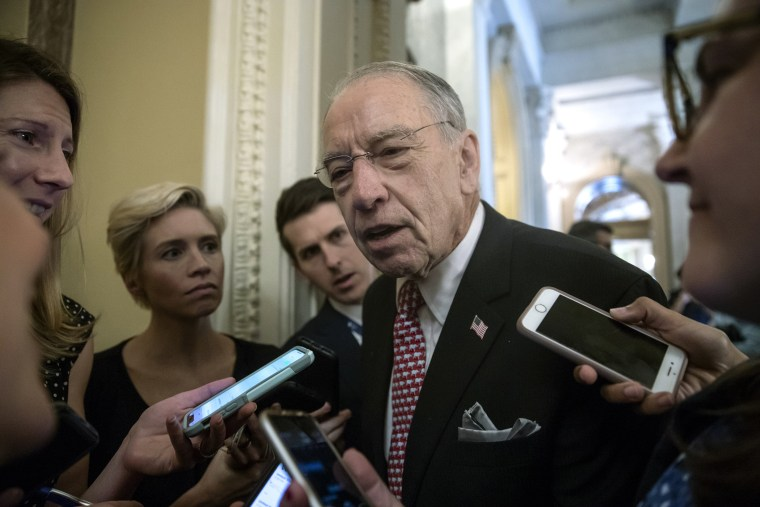 Grassley defends his investigation of Kavanaugh during confirmation process