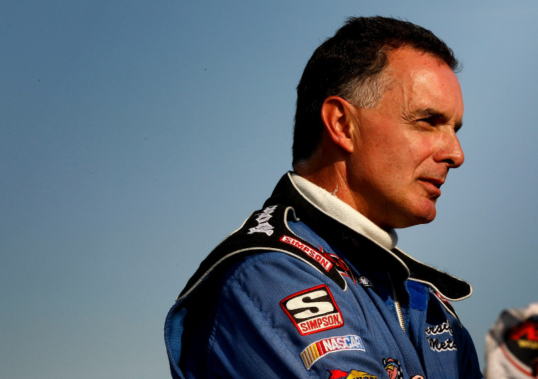 Image: Mike Stefanik at the NASCAR Whelen Modified Tour in Stafford Springs, Conn., in 2011.