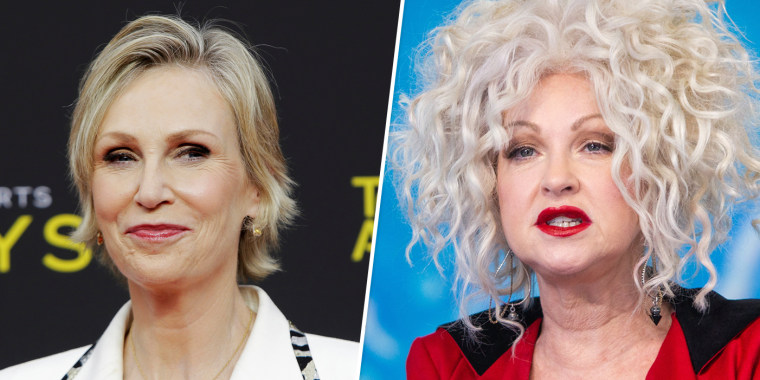 Image:Jane Lynch and Cyndi Lauper.