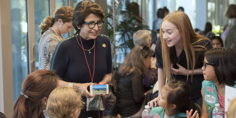 How Sylvia Acevedo is bringing her rocket scientist roots to Girl Scouts