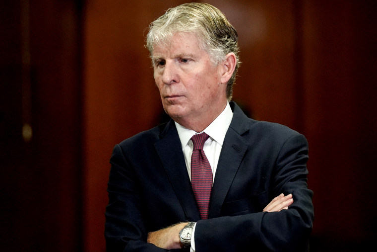 Image: Manhattan District Attorney Cy Vance attends a news conference in New York in 2018.