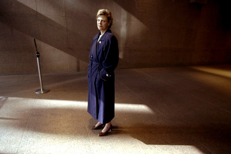 Image: Cokie Roberts in 1998.