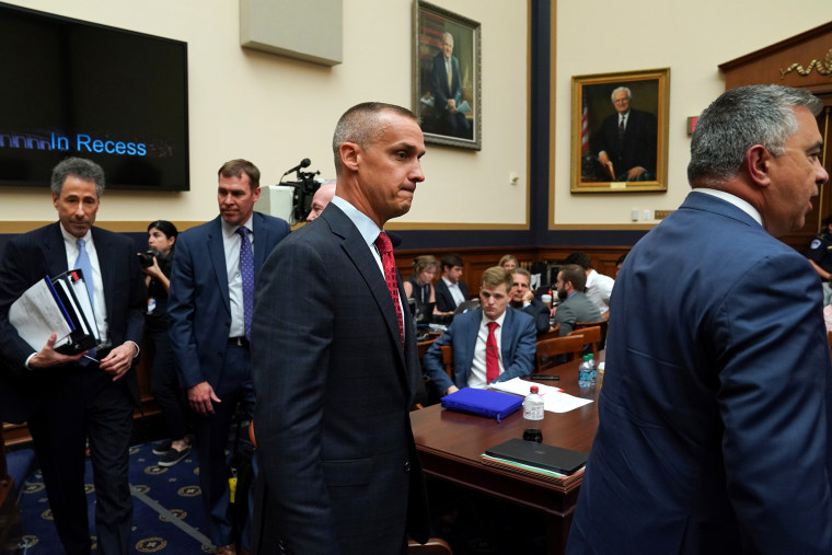 Image: Corey Lewandowski testifies before the House Judiciary Committee
