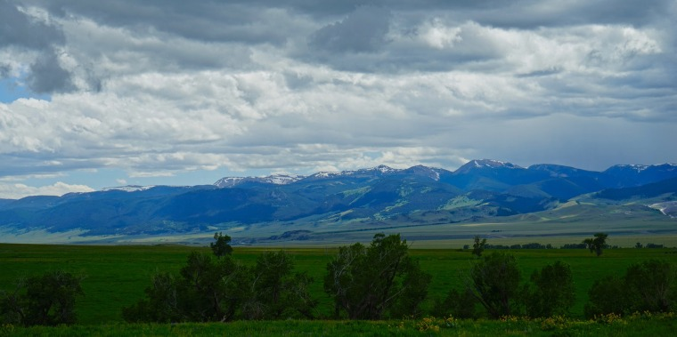 Image: Gravelly Range in southwest Montana's Rocky Mountains.