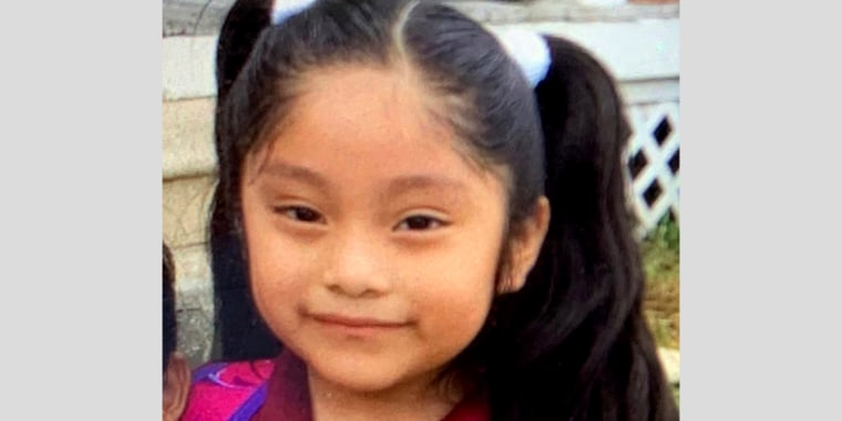 Image: Five-year-old Dulce Alavez was last seen at a New Jersey park in Bridgeton on Sept. 16, 2019.