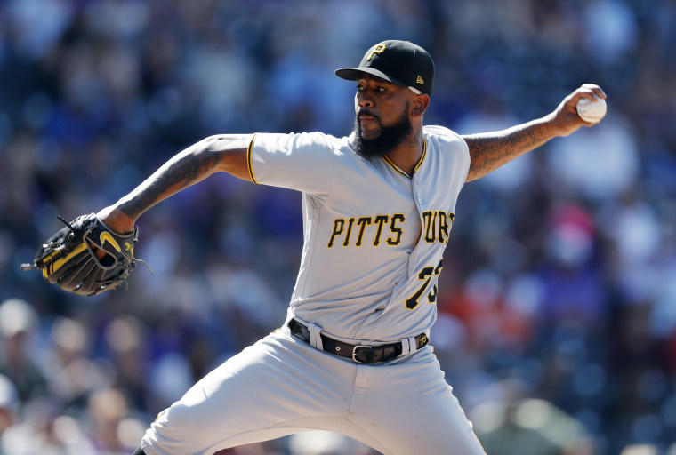 Pirates star Felipe Vazquez booked for sex crimes against Pennsylvania girl who was 13